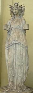 Représentation d'Hécate à trois corps. Marbre, copie romaine d'après un original hellénistique.