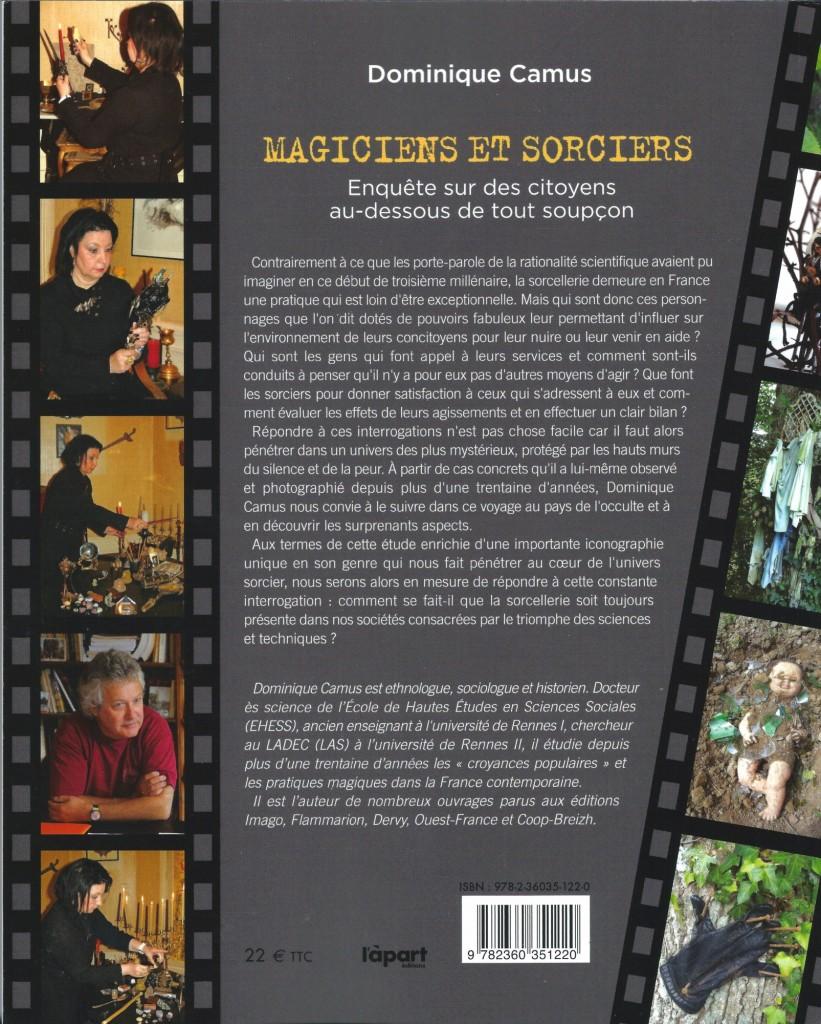 MAGICIENS ET SORCIERS - Dominique Camus